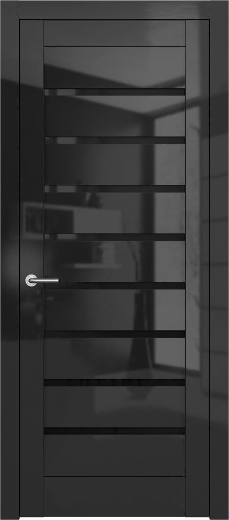 МИКС черный глянец стекло B