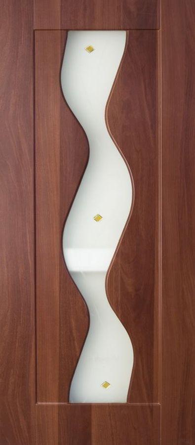 Вираж Итальянский орех стекло художественное Вираж