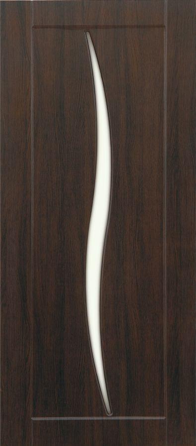 Силуэт Венге стекло матовое белое